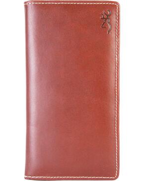 Browning Men's Tri-Fold Executive Wallet , Brown, hi-res