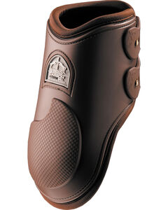 Veredus Carbon Gel Brown Rear Ankle Boots, Brown, hi-res
