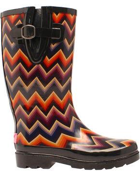 Blazin Roxx Women's Chandra Rain Boots, Multi, hi-res