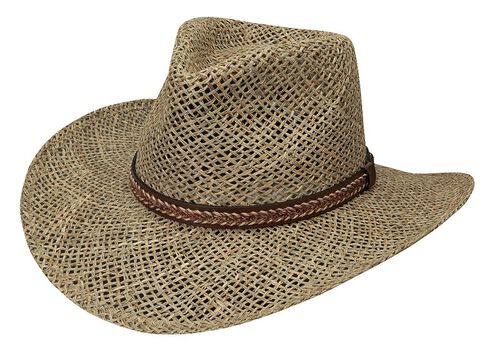 Black Creek Seagrass Straw Hat, Natural, hi-res