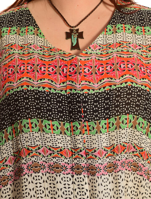 New Direction Sport Women's Sleeveless Print Shirt - Plus Size, Multi, hi-res
