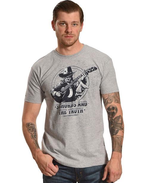 Moonshine Spirit Men's 3 Cords & The Truth Logo Tee, Heather Grey, hi-res