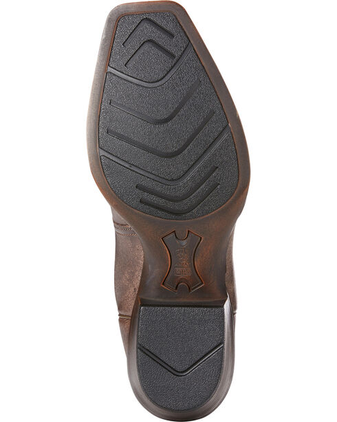 Ariat Men's Chocolate High Desert Tack Western Boots - Square Toe , Chocolate, hi-res