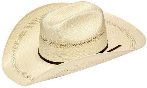 Twister 20X Shantung Maverick Straw Cowboy Hat, Natural, hi-res