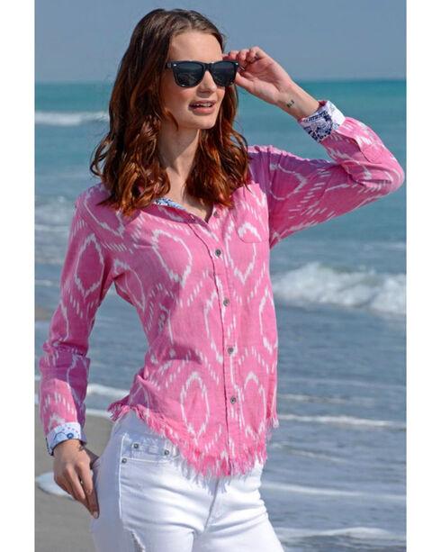 Dizzie Lizzie Women's Santa Fe Tunic , Pink, hi-res