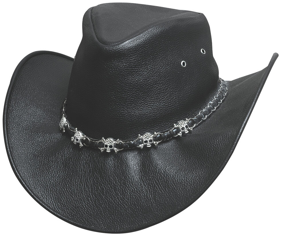 Bullhide Hats Men's Smoke Western Hat, Black, hi-res
