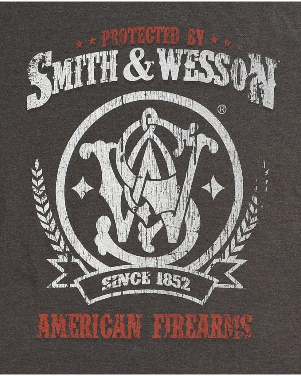 Smith & Wesson Men's Protected Premium Tee, Black, hi-res