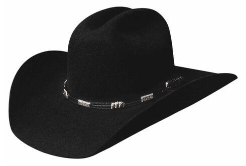 Bullhide Rockford 4X Premium Wool Cowboy Hat, Black, hi-res