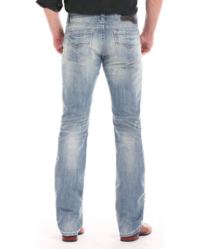 Rock & Roll Cowboy Men's Indigo Revolver Light Jeans - Straight Leg , Indigo, hi-res