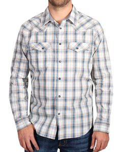 Cody James Men's Western Long Sleeve Shirt , White, hi-res
