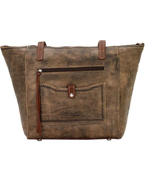 American West Mystic Shadow Zip Top Bucket Tote Bag, , hi-res