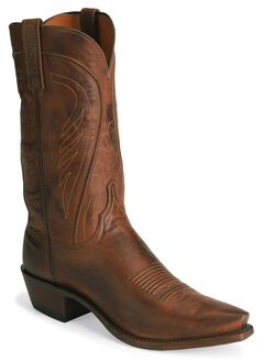 Lucchese Handcrafted 1883 Tan Ranch Hand Cowboy Boots, , hi-res