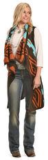 Cowgirl Justice Women's Sedona Sky Vest , Multi, hi-res