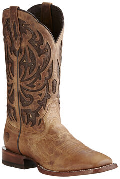 Ariat Men's Wheat Wildfire Boots - Wide Square Toe, , hi-res