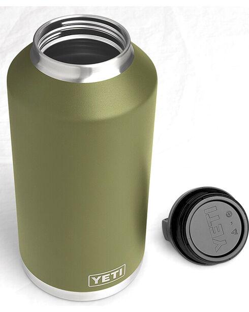 Yeti Olive Green 64 oz. Bottle Rambler , Olive, hi-res
