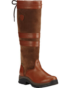 Ariat Women's Chestnut Braemar GTX English Boots, , hi-res