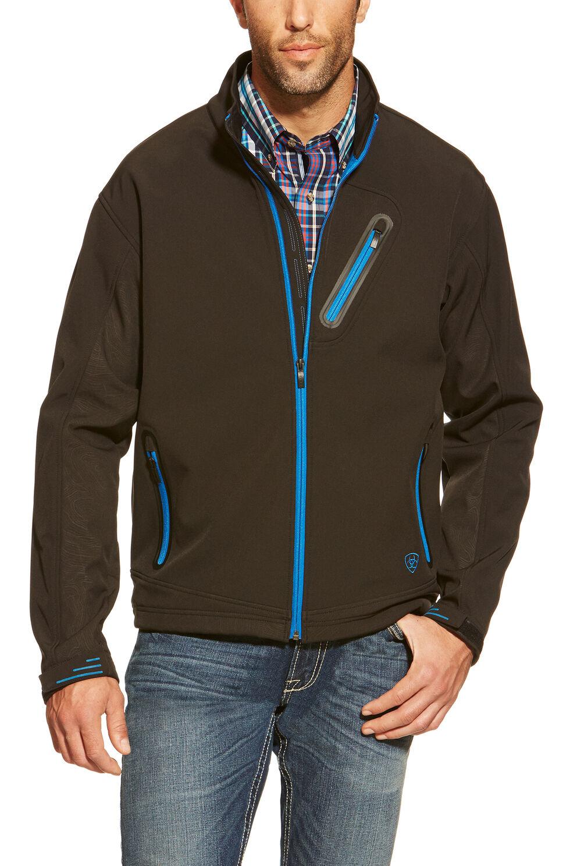 Ariat Men's Forge Softshell Jacket, Black, hi-res