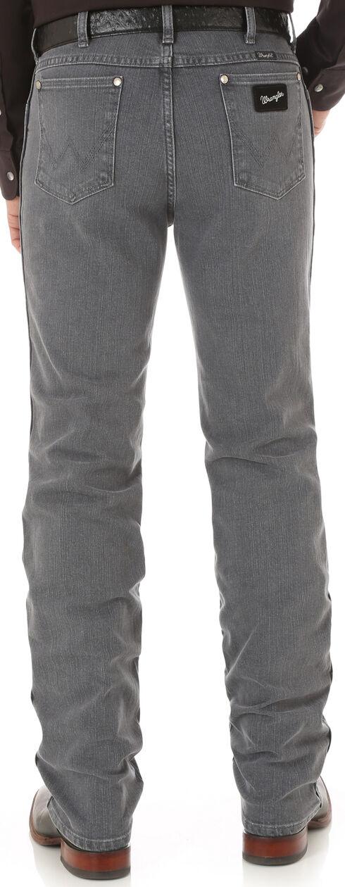 Wrangler Men's Cowboy Cut Silver Edition Slim Fit Jeans, Grey, hi-res