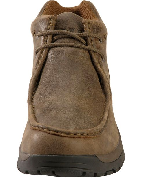 Roper Nubuck Ankle Boots, Brown, hi-res
