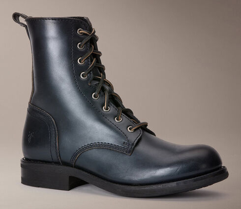 Frye Sutton Tall Lace Up Boots, Black, hi-res