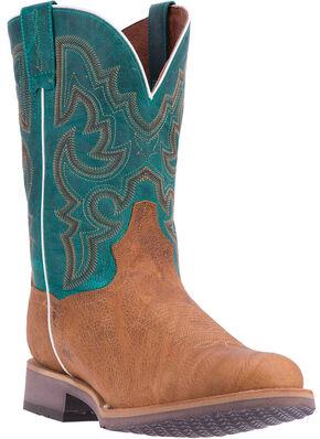 Dan Post Men's Tan Odessa Cowboy Boots - Broad Round Toe, Tan, hi-res