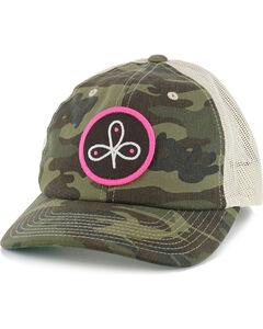 HOOey Women's Good Run Camo Snapback, Camouflage, hi-res