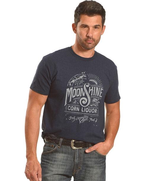 Moonshine Spirit Men's Corn Liquor Short Sleeve T-Shirt, Navy, hi-res