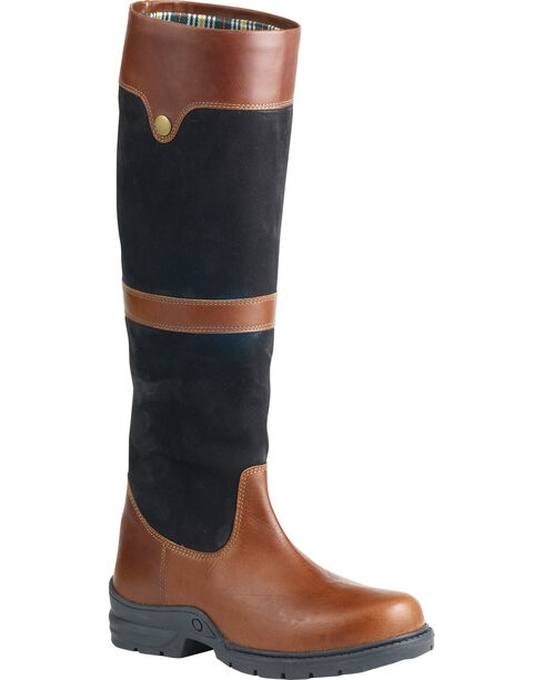 Ovation Women's Kenna Country Boots, Black, hi-res