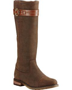 Ariat Women's Java Stoneleigh H2O English Boots, , hi-res