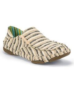 Tony Lama Women's Tan Lindale Canvas Shoes , Tan, hi-res