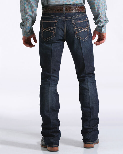 Cinch Men's Indigo Ian Mid-Rise Jeans - Boot Cut , Indigo, hi-res