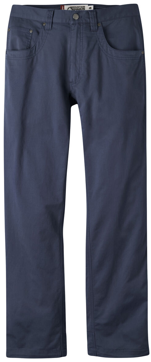 Mountain Khakis Men's Navy Camber Commuter Pants - Slim Fit , Navy, hi-res