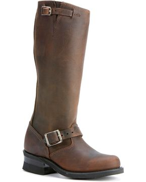 Frye Women's Engineer 15R Riding Boots - Round Toe, Gaucho, hi-res