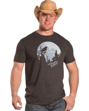 Moonshine Spirit Men's Moon Crow T-Shirt, Black, hi-res