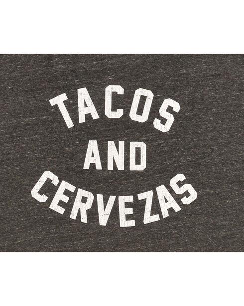 Original Retro Brand Men's Tacos and Cervezas Tee, Black, hi-res