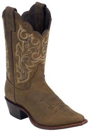 Justin Women's Milcah Bay Apache Cowgirl Boots - Pointed Toe, Bay Apache, hi-res