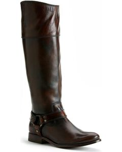 Frye Women's Melissa Harness Inside Zipper Riding Boots, , hi-res
