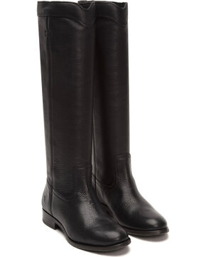 Frye Women's Cara Roper Tall Boots - Round Toe , Black, hi-res