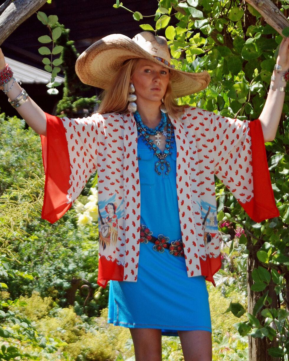 Tasha Polizzi Women's Mexico Kimono , Multi, hi-res
