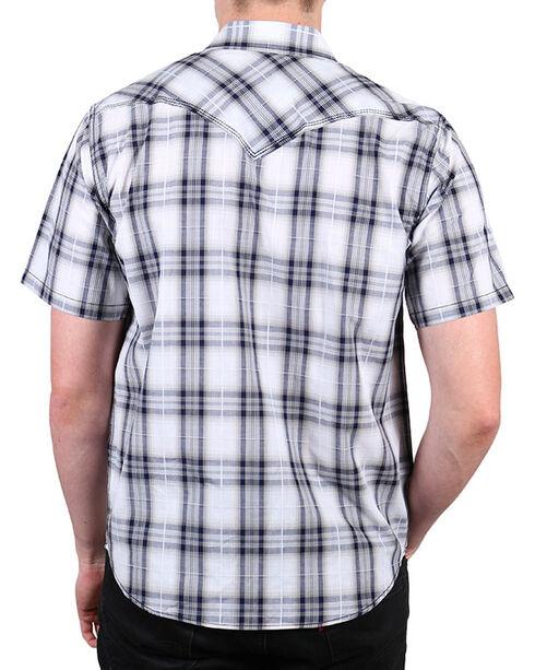 Cody James Men's Huckleberry Short Sleeve Shirt - Tall, White, hi-res