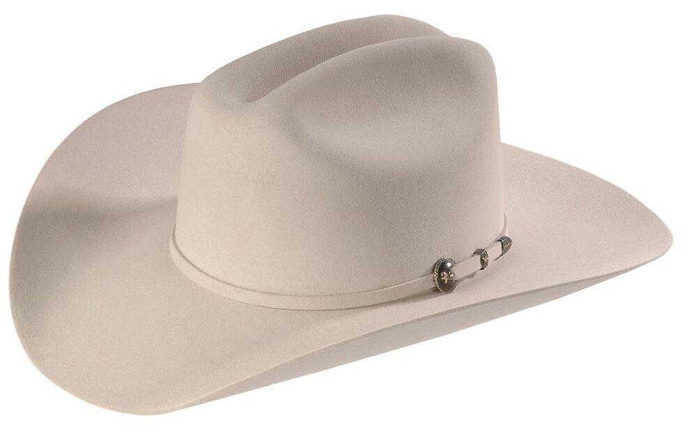 Resistol George Strait 6X Remuda Fur Felt Western Hat, Silver Gry, hi-res