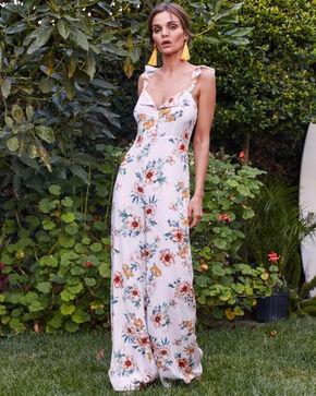 Sage the Label Women's White Gigi Jumpsuit , White, hi-res