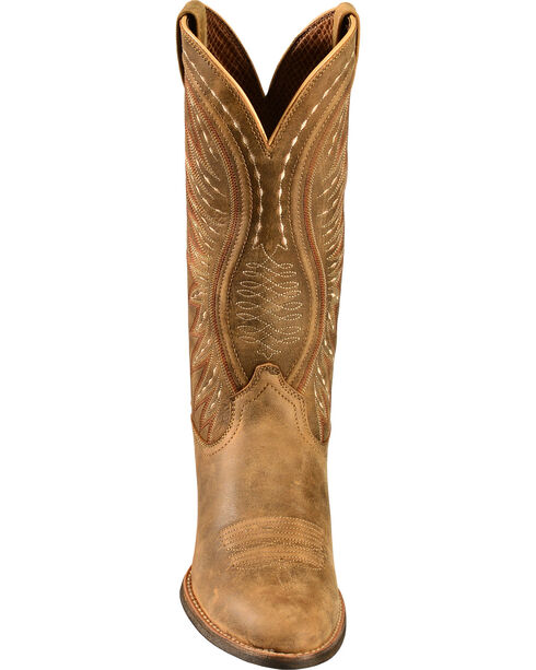 Ariat Brown Bomber Ammorette Cowgirl Boots - Round Toe, Brn Bomber, hi-res