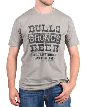 Cowboy Up Men's Graphic Tee, Grey, hi-res