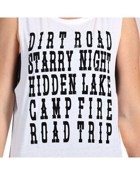 Z Supply Women's Road Trip Tank Top, White, hi-res