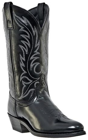 Laredo Women's Kadi Classic Cowgirl Boots - Medium Toe, Black, hi-res