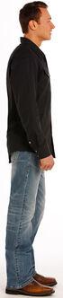 Rock and Roll Cowboy Double Barrel Flex Jeans - Straight Leg , Indigo, hi-res