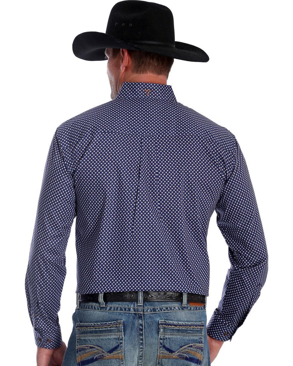 Wrangler Men's 20X Advanced Comfort Blue Dot Competition Shirt , Blue, hi-res