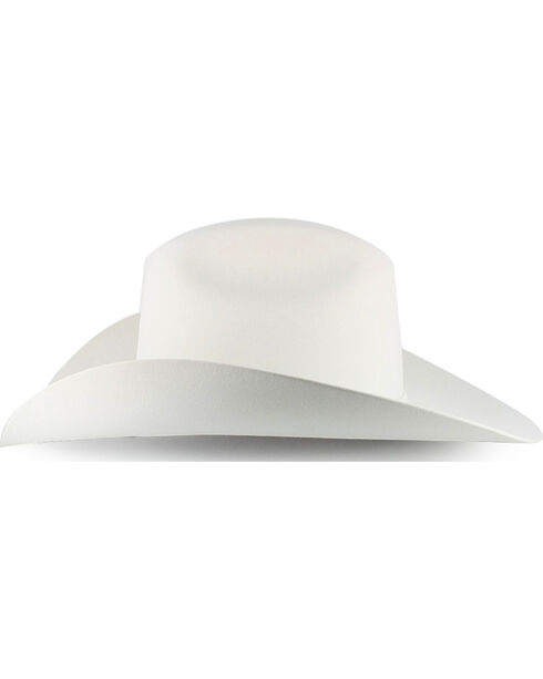Serratelli 6X Beaver Fur Felt Cowboy Hat, White, hi-res