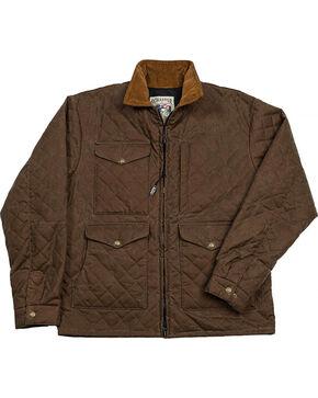 Schaefer Outfitter Men's Oak Blacktail Quilted Rangewax Jacket , Dark Green, hi-res